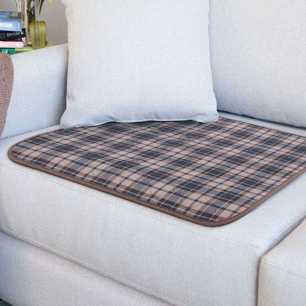 CCD 051061 25 1P Conni Chair Pad Large tartan